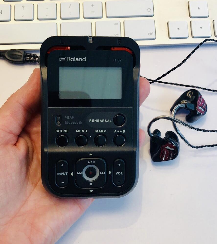 Het opnamebakske: Roland R-07 product review
