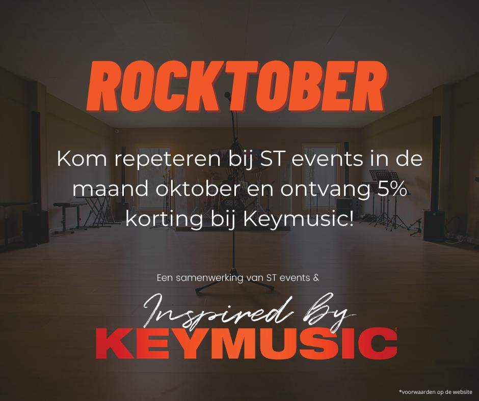 ROCKTOBER met ST events en Keymusic